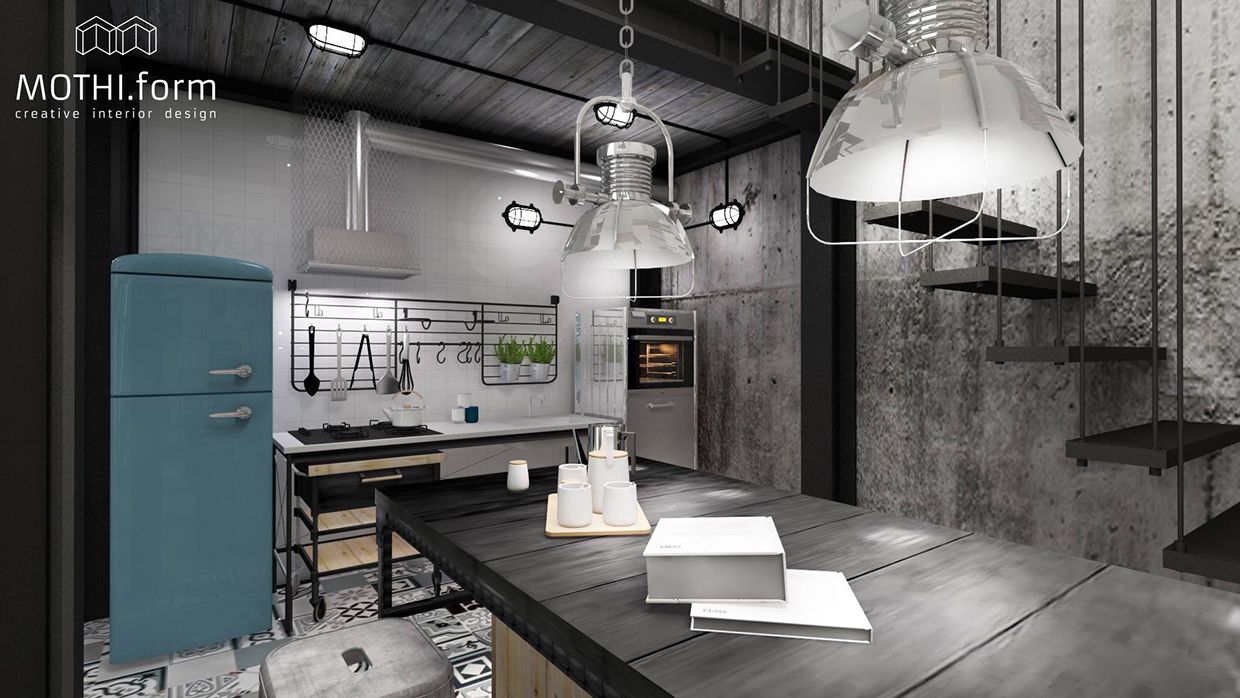 7 inspirational loft interiors - Decoration loft industriel ...