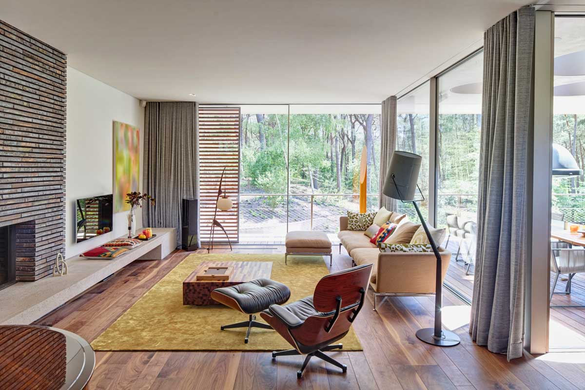 eames arm chair interior design ideas