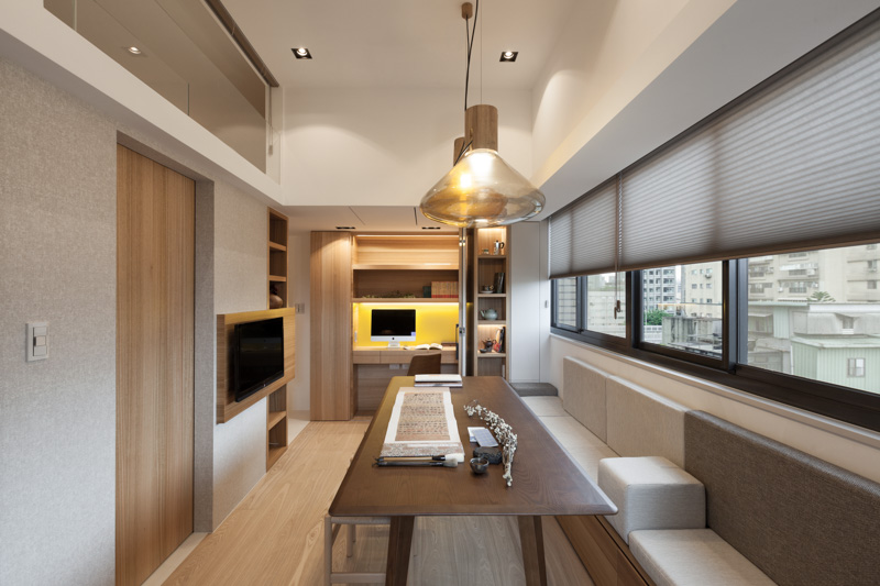 Taipei Home Showcases Asian Minimalist Influences