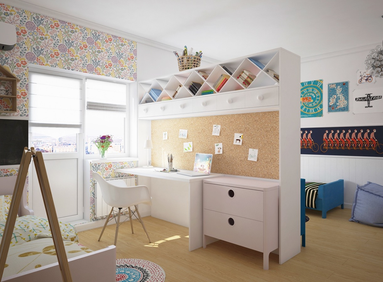 Feminine Decorated Office - Creative and inspirational workspaces