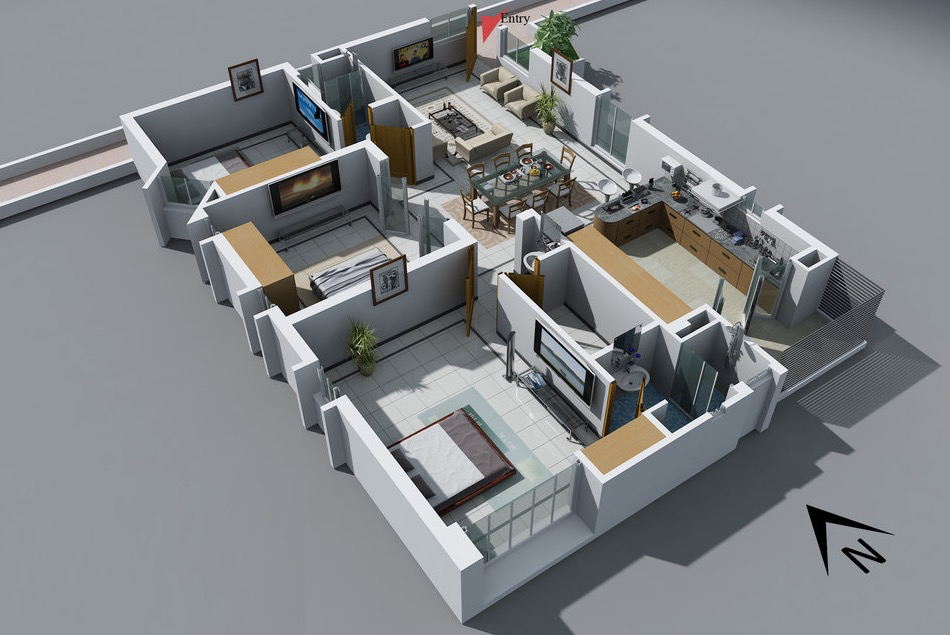 Design a house layout