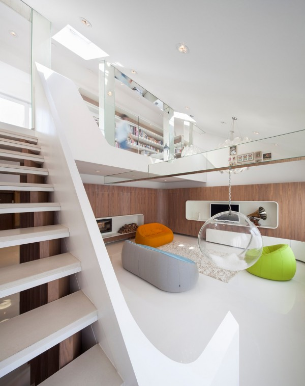 Hungarian Loft Design Uses a Simple Aesthetic for Big, Stylish Results ...
