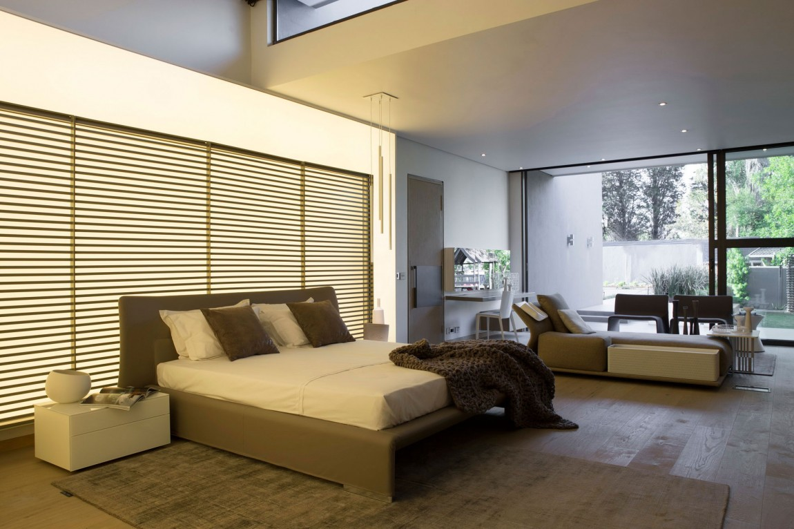 Creative renovation gives modern life to an existing frame for Creative master bedroom ideas