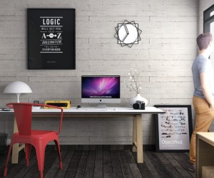 Nice ... Home Office Desks For Your Workspace · Creative And Inspirational  Workspaces
