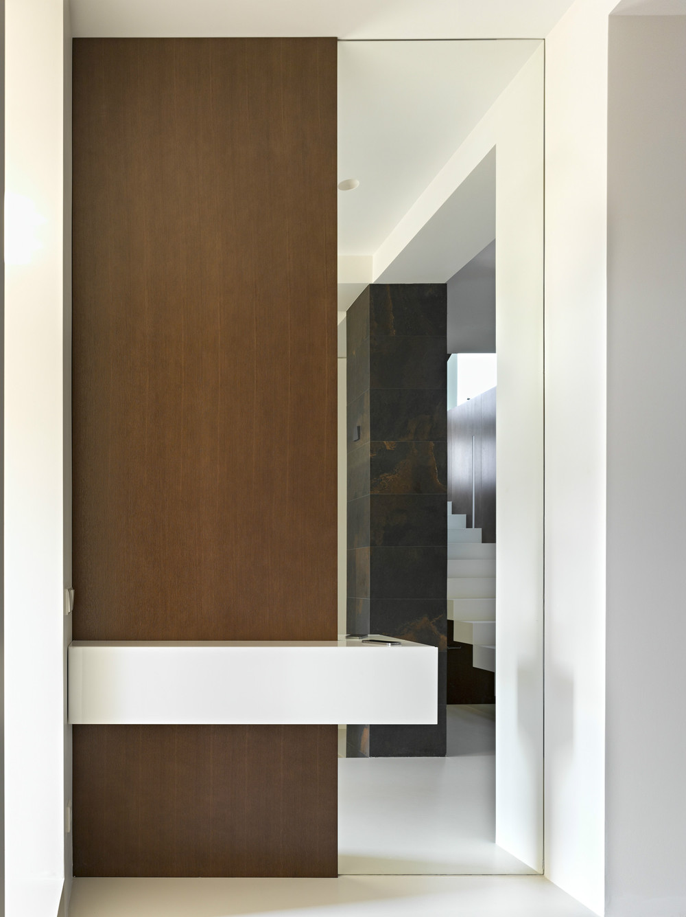 Modern Design - Invisible doors turn a home into an artistic feat of design