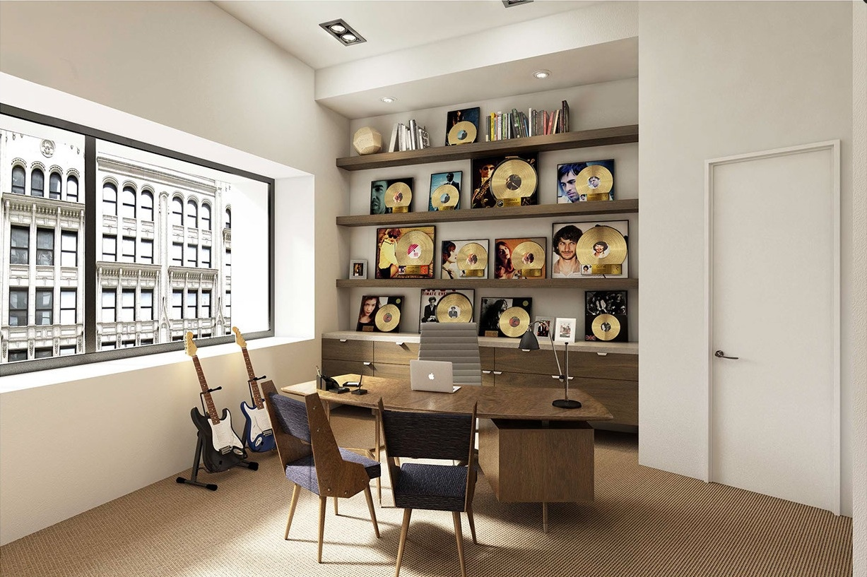 Musically Inspired Office - Creative and inspirational workspaces