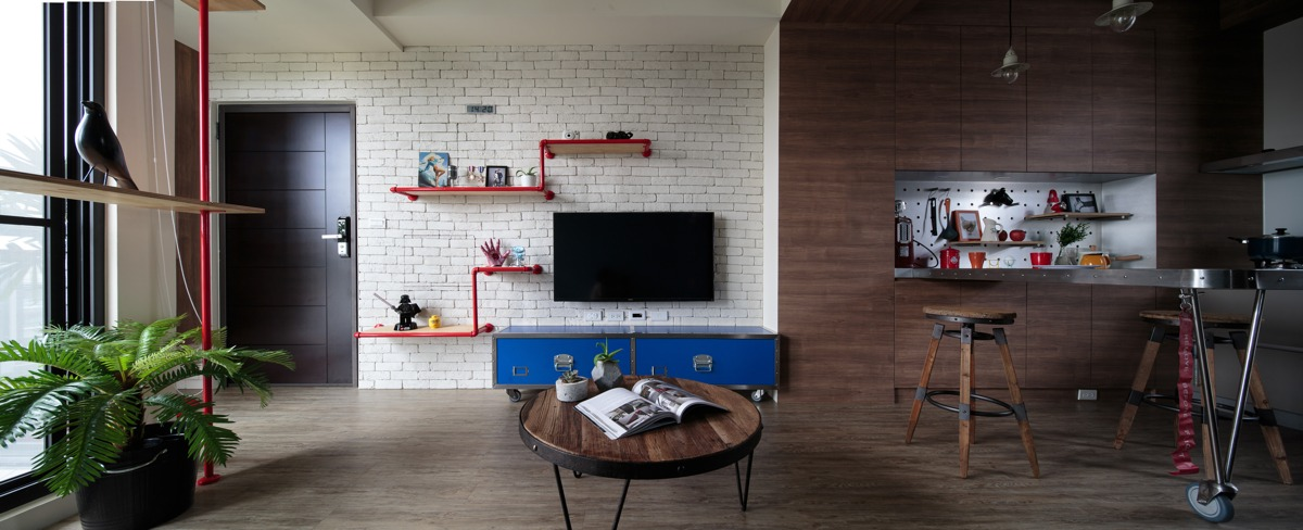 Aviation Inspiration And Superhero Dreams In A Quirky Tainan Home