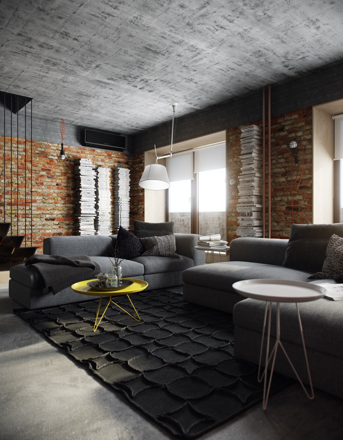 Creative loft space design interior design ideas Creative interior ideas