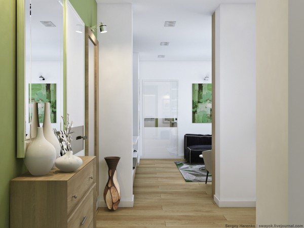 green-and-white-decor