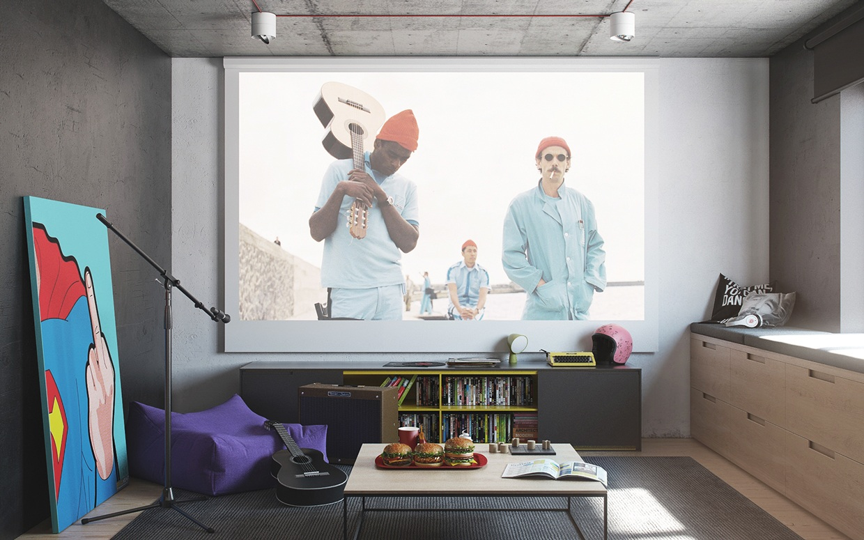 Home Projection System Is An Ideal Media Solution In Artists