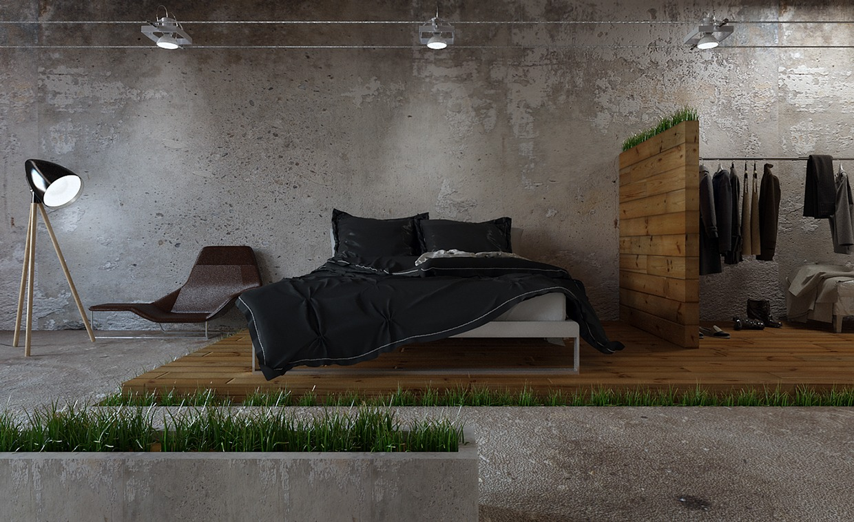 homes that use a concrete finish to achieve beautiful results. Black Bedroom Furniture Sets. Home Design Ideas