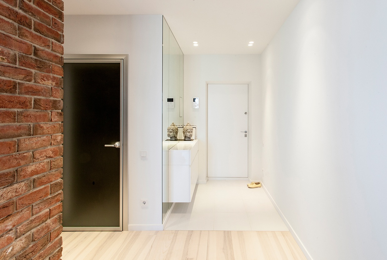 White And Wood - 3 sparkling apartments that shine with wonderful white