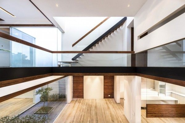 Beautiful home interior a sleek modern home with indian sensibilities and an interior
