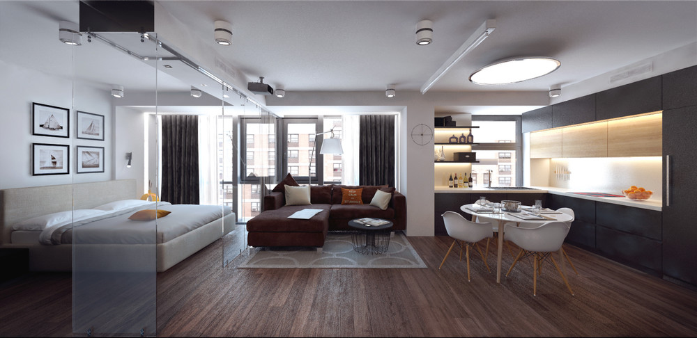 beautiful-studio-apartment | Interior Design Ideas.