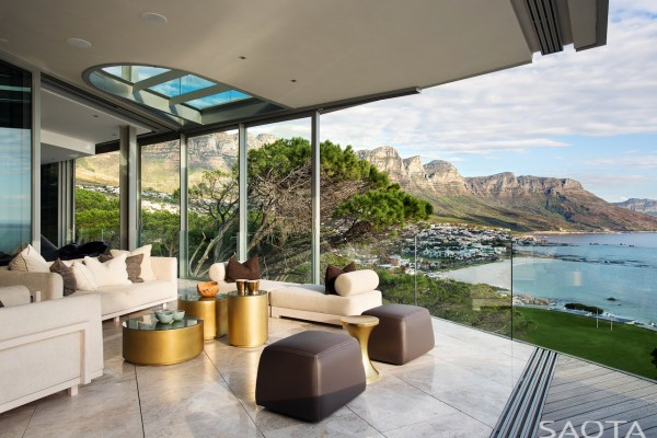 The House With Views Of The Spacious Pool Deck And Its Infinity Pool