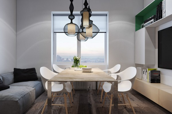 Creative light fixture designing for small spaces 3 beautiful micro lofts creative light
