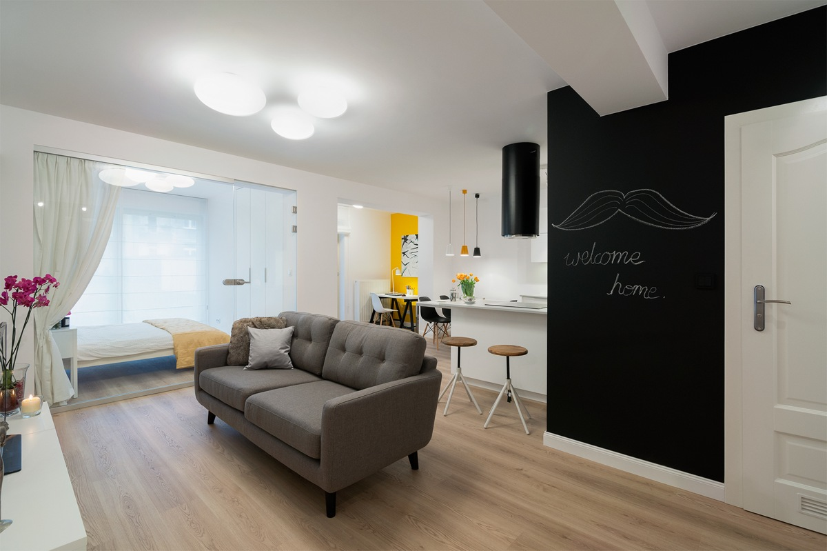 Mellow Yellow 7 Soothing Apartments With Sunny Accents