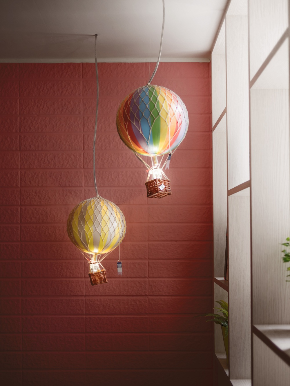 Hot Air Balloon Lights Interior Design Ideas