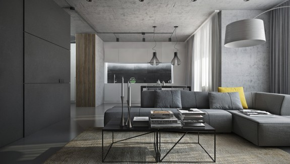 Dark Themed Interiors: Using Grey Effectively For Interior Design