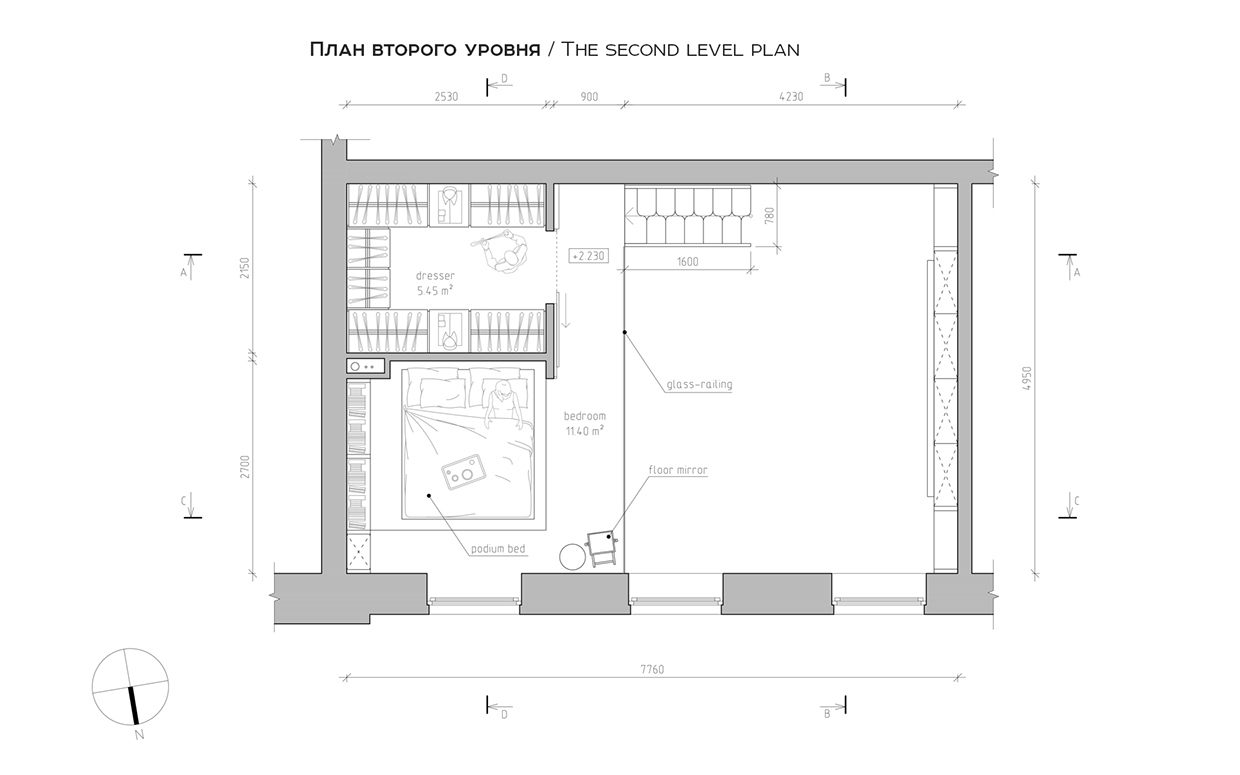 Layout Ideas - A super small apartment that adapts to its owner s needs