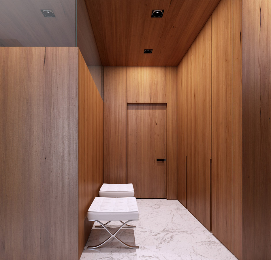 Contemporary Wood Paneling For Walls : Modern wood paneling interior design ideas