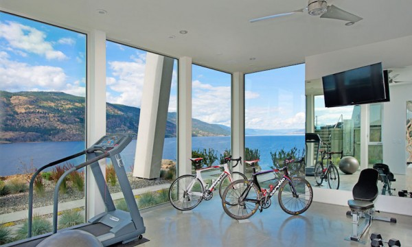 For colder months (which Canada knows a thing or two about) there are also indoor amenities like a private gym and even a built-in spa area.