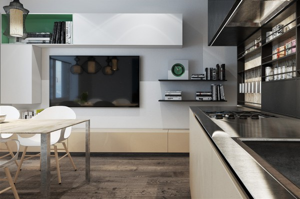 Designing for small spaces 3 beautiful micro lofts modern soaking · the second microloft in the collection is a bit smaller at 39 square meters 419
