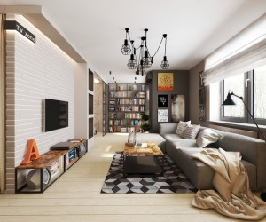3D Interior Design Inspiration · Ultimate Studio Design Inspiration: 12  Gorgeous Apartments ...