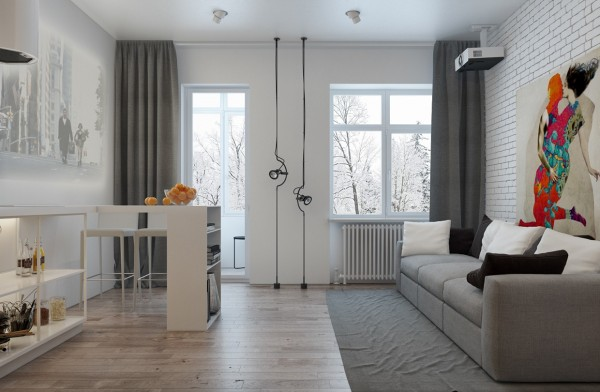 The First Microloft Measures 47 Square Meters (500 Square Feet), So It Is