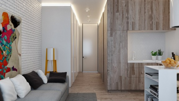 Designing For Small Spaces: 3 Beautiful Micro Lofts