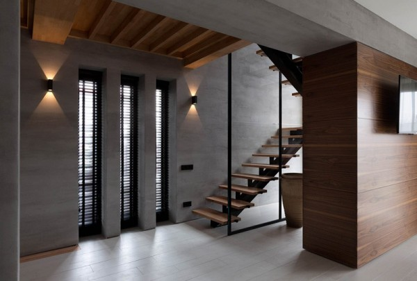 wood-and-concrete