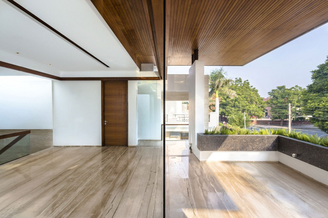 Merveilleux A Sleek, Modern Home With Indian Sensibilities And An Interior Courtyard