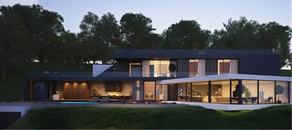 Modern Home Exteriors With Stunning Outdoor Spaces Custom Modern Home Design Exterior