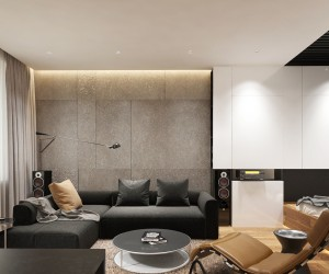 Small apartment interior design working with just 40 for 40m apartment design