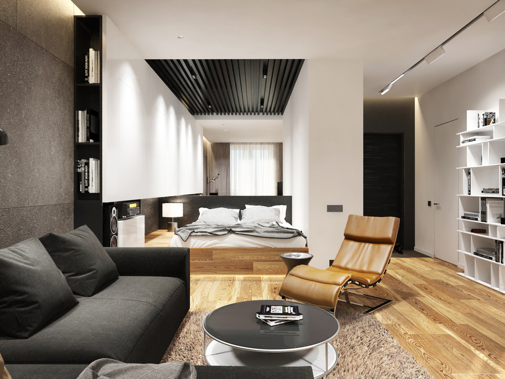 Collect this idea Small 45 Square-Meter Apartment Design Optimized by  Maurcio Karam