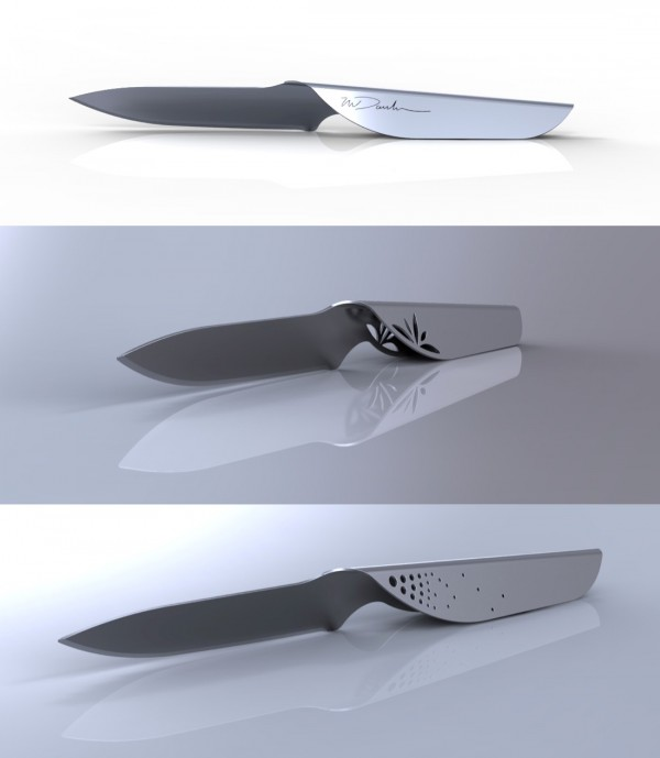 Another concept, this one comes from designer Neil Davidson. The intricate handles here are particularly gorgeous.