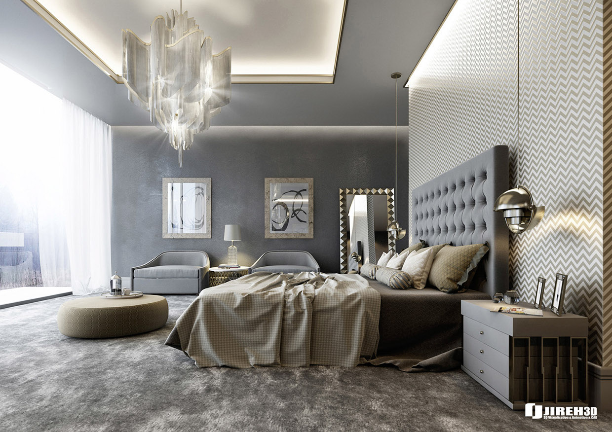 8 luxury bedrooms in detail for Bedroom ideas uk
