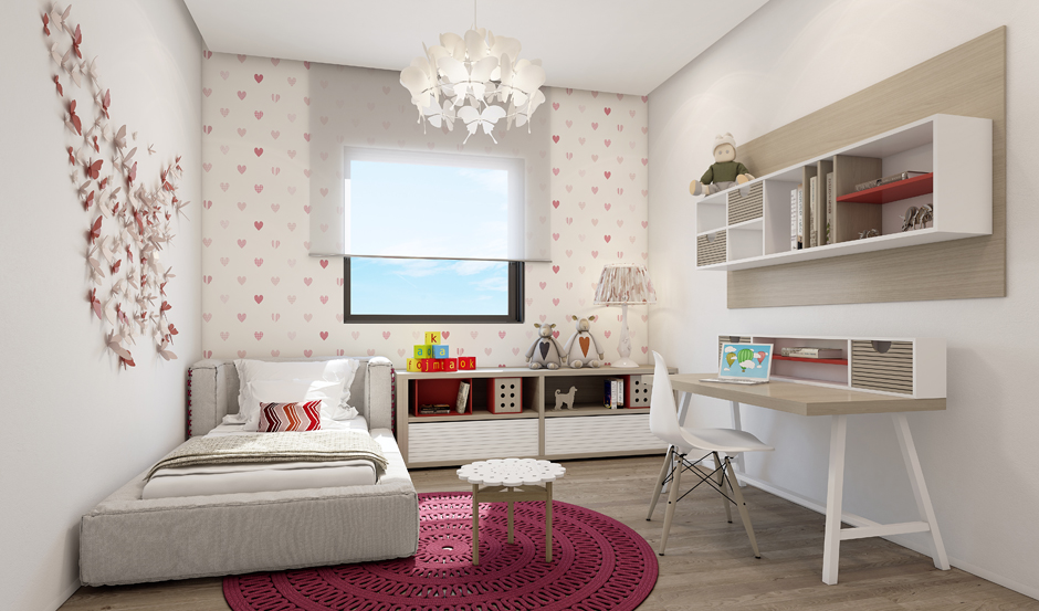 Contemporary girls room design interior design ideas for Girls bedroom designs images
