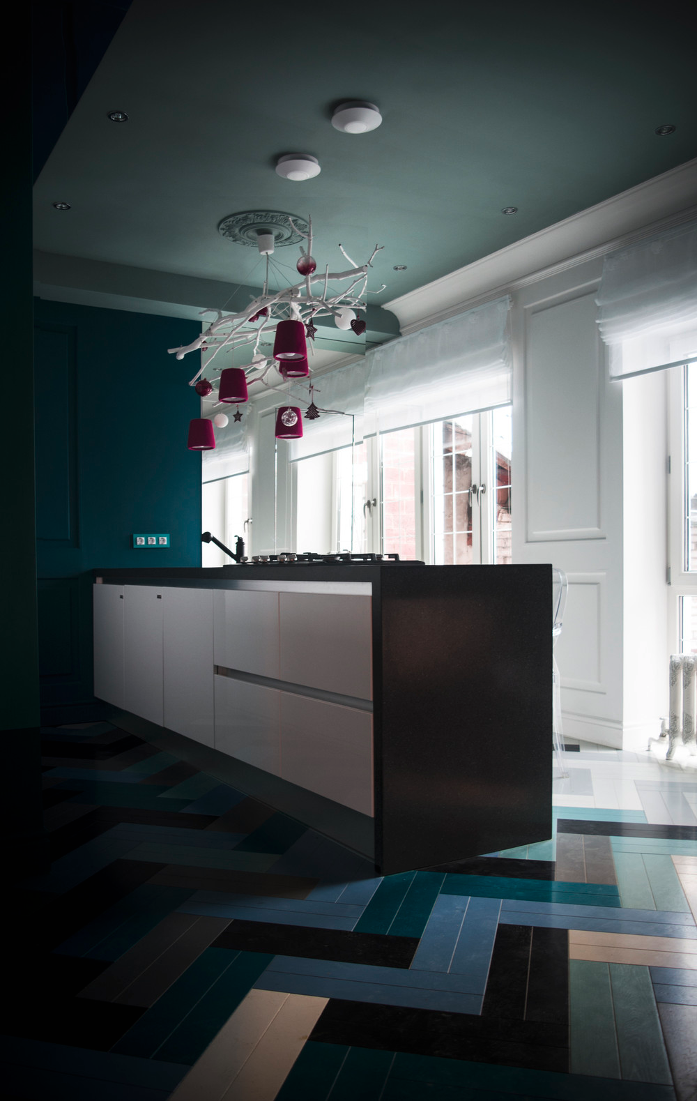 Cranberry Accents - 10 modern kitchens that any home chef would envy