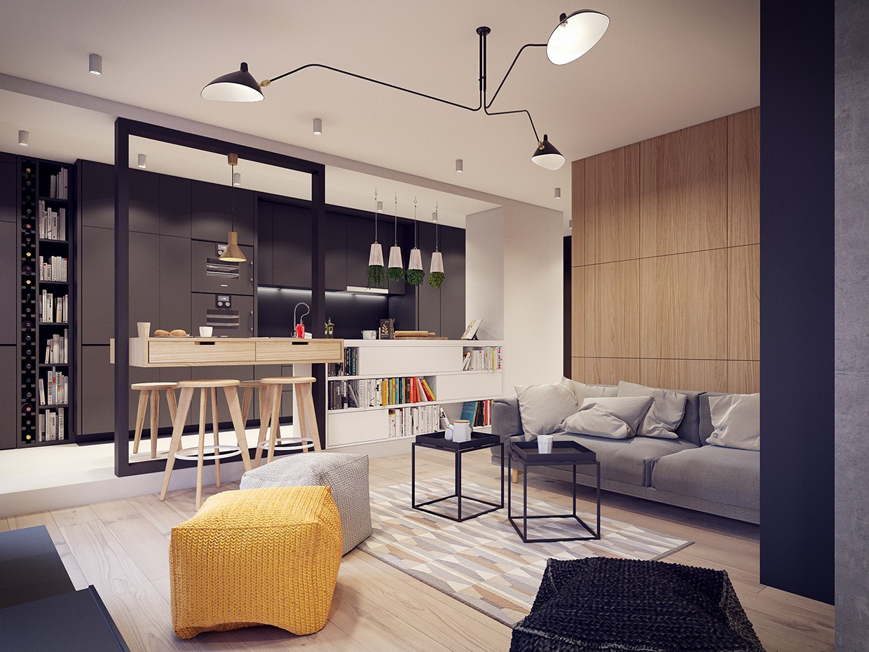 A 60s-Inspired Apartment with a Creative Layout and Upbeat ...