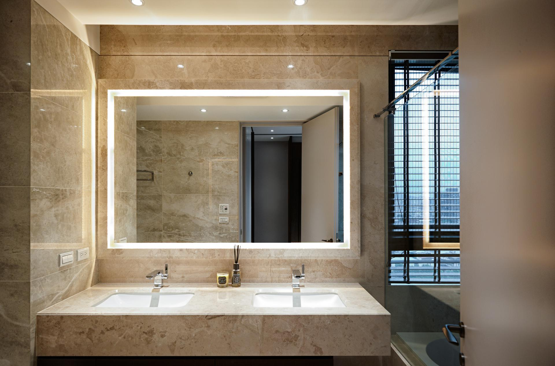 Two taiwan homes take beautiful inspiration from nature for Create a bathroom design online