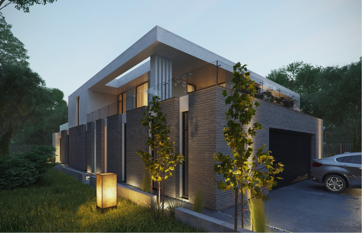 Modern home exteriors with stunning outdoor spaces for Free exterior design