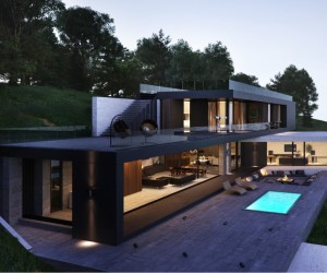 Modern Home Exteriors With Stunning Outdoor Spaces ...