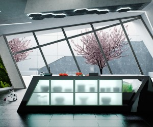 Kitchen Design Modern 12 modern eat-in kitchen designs