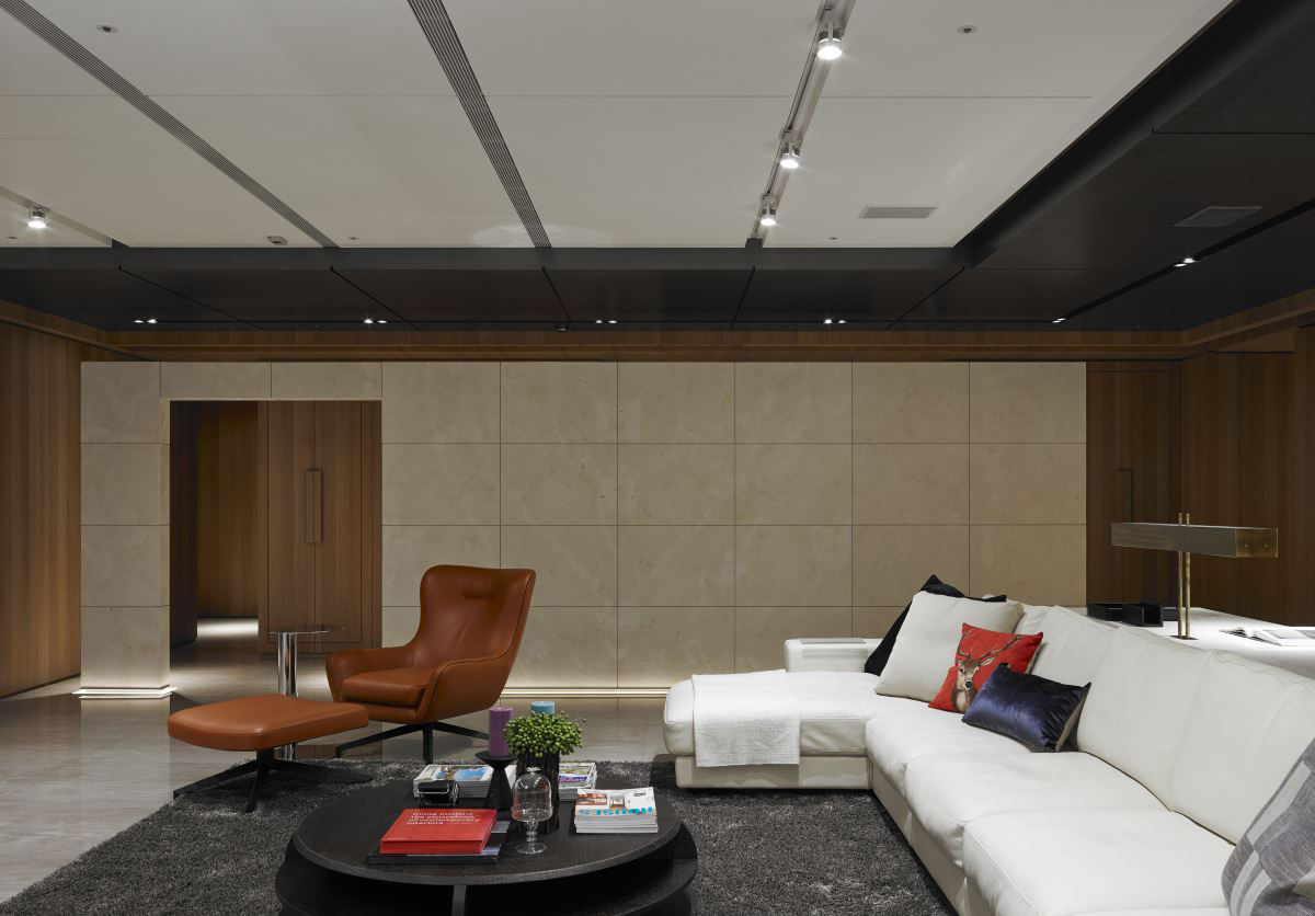 Minimalist luxury from asia 3 stunning homes by free interior - Contemporary living room interiors ...