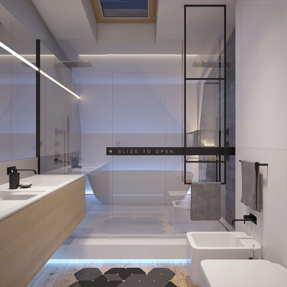 A 2 Bedroom Flat In Kiev With Sleek Contemporary Features