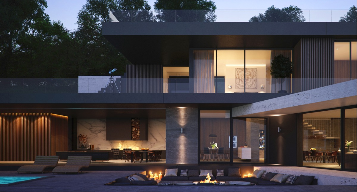 Second Story Private Balcony - Modern home exteriors with stunning outdoor spaces