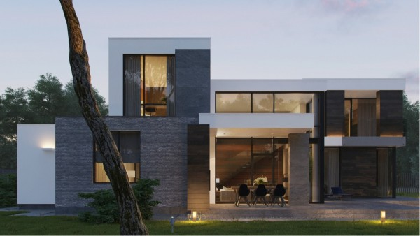 modern home exteriors with stunning outdoor spaces gallery for gt modern brick houses