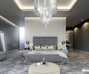 The First Bedroom Here Designed By Mauritz Snyman Uses Soft And