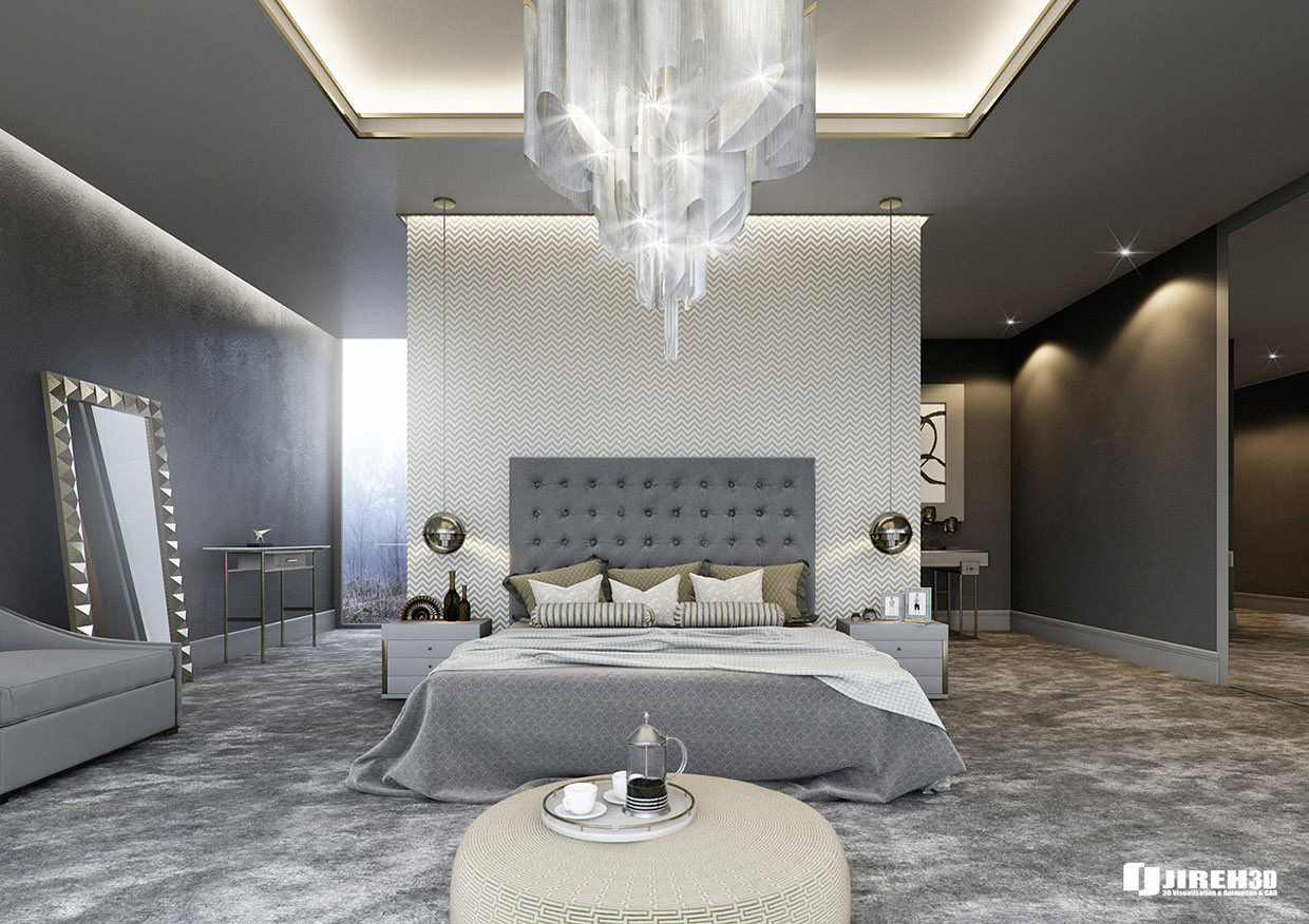 Interior Luxury Bedroom